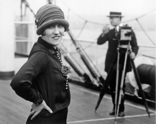 Stars of the silver screen all at sea