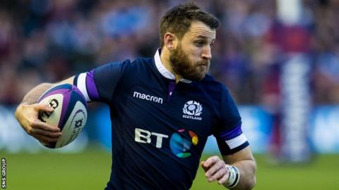Six Nations: Scotland make five changes for Italy