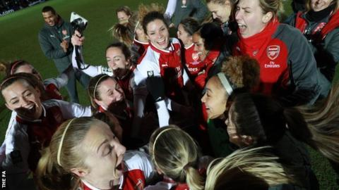 Continental Tyres Cup Final: Arsenal Women 1-0 Manchester City Women