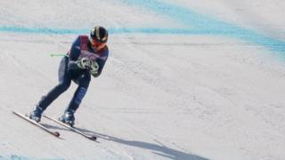 Winter Paralympics: The rally driver who crashed into championship skiing