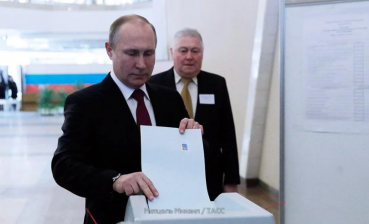 Putin votes for Russian President
