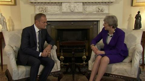 May to set out UK 'tests' for Brexit deal