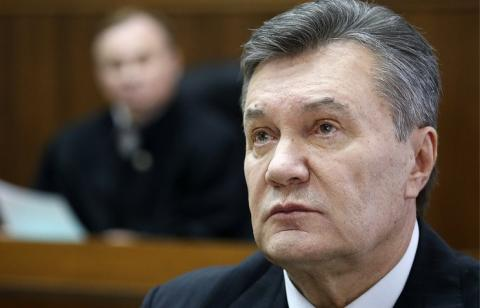 Ex-president Yanukovych holds press conference