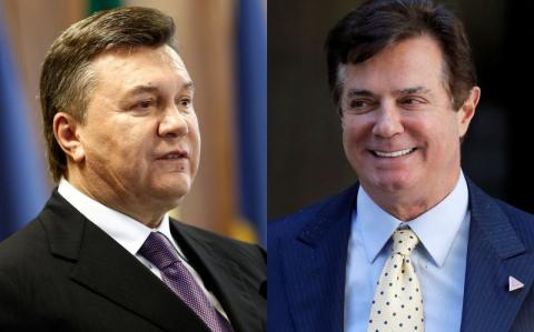 Yanukovych on relationship with Manafort: no personal interactions, he worked with the Administration
