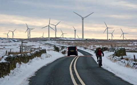 Electricity prices hit 10-year high as cheap wind power wanes