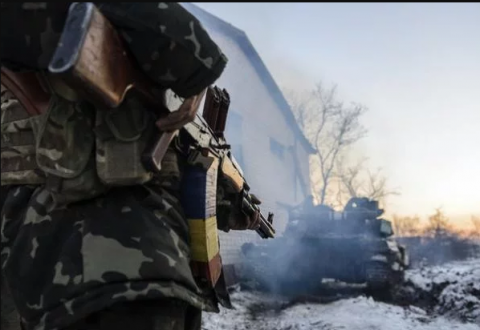 One Ukrainian soldier killed, two wounded in Donbas on Friday, - HQ