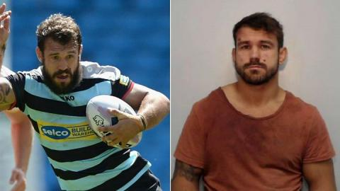 Rugby player Scott Moore jailed after high-speed chase and assaults on police