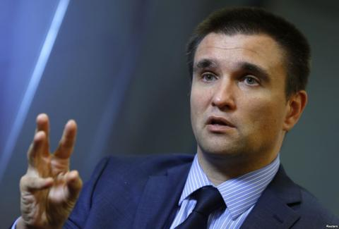 Sobchak's request to enter Crimea is political schizophrenia, - Klimkin