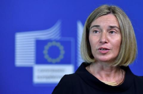 EU continues to support territorial integrity, sovereignty of Ukraine, - Mogherini