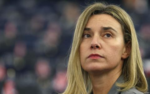 EU to not recognize election in occupied Crimea, - Mogherini