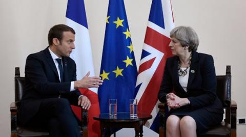 May, Macron to coordinate actions in investigation of Skripal's poisoning