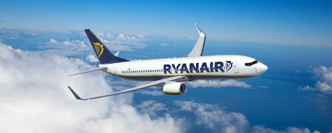Ryanair flights from Ukraine