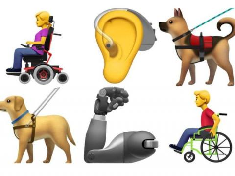 Apple unveils new emoji to represent disabilities