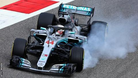 Bahrain Grand Prix: Lewis Hamilton set for five-place penalty