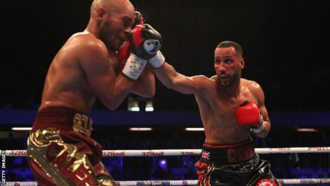 James DeGale beats Caleb Truax on points to regain IBF super-middleweight title