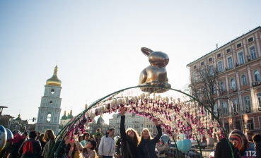Easter Eggs Frestival opened in Kyiv: Photo report
