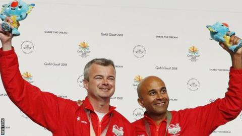 Commonwealth Games: David Luckman & Parag Patel win Queen's Prize