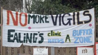 Abortion clinic safe zone imposed by Ealing Council