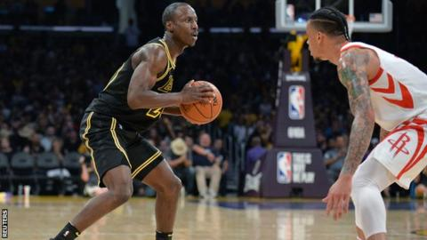 Andre Ingram: LA Lakers player makes NBA debut aged 32