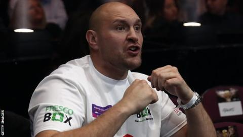 Tyson Fury: Former world heavyweight champion to make comeback on 9 June