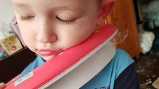 Boy, three, in potty seat rescue in Cornwall