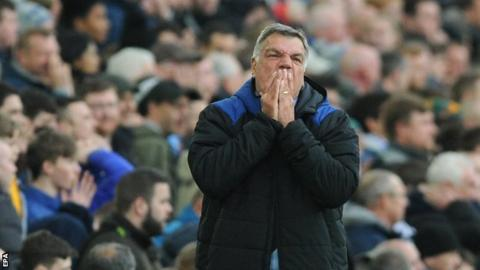 Sam Allardyce: Everton boss says fan survey was