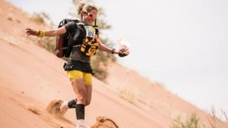 In pictures: Sophie Raworth and the 150-mile desert ultra-marathon