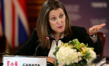 The personal is political for Canada's foreign minister