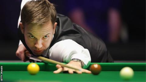 World Snooker Championship 2018: Ali Carter leads Ronnie O'Sullivan in second round