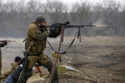 Donbas: Ten attacks on Ukrainian military emplacements