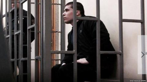 'Saboteur' Suleymanov released from Russian prison