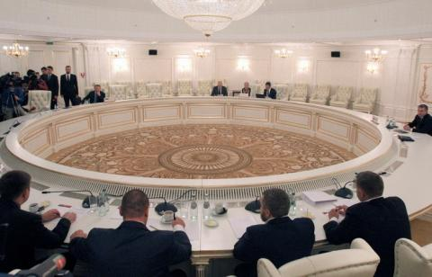 Trilateral Contact Group begins meeting in Minsk