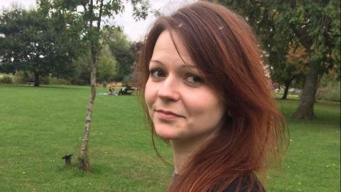 Yulia Skripal escorted to hospital at military base