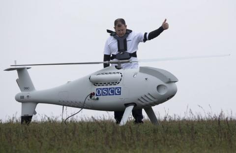 Donbas: Pro-Kremlin militants plan shooting down OSCE drones, - Ukrainian military