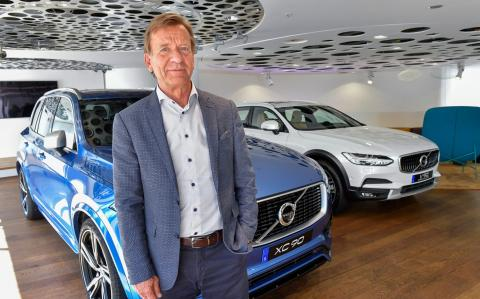 Volvo wants half of its car sales to be electric by 2025