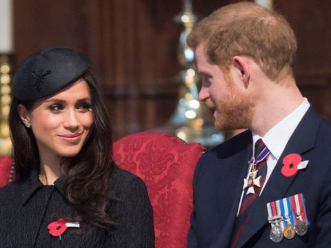 Meghan Markle married - but not to Prince Harry