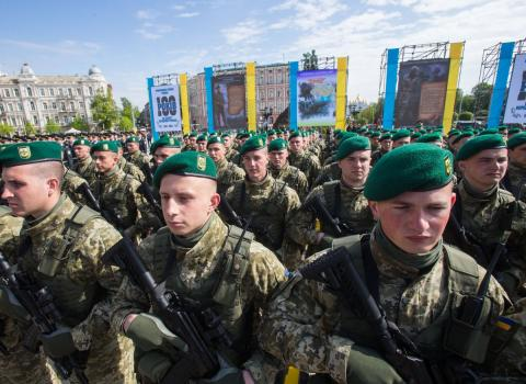 Ukraine celebrates Border Guard's Day on April 30 for first time