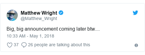 Matthew Wright to leave The Wright Stuff