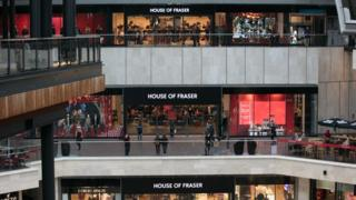 House of Fraser to close stores in reorganisation