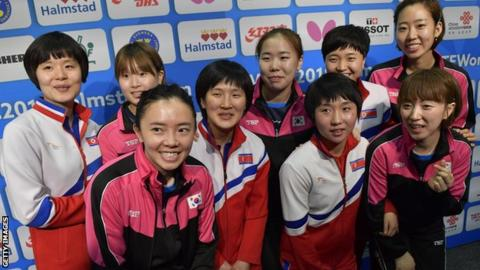 Korean table tennis teams opt to unite
