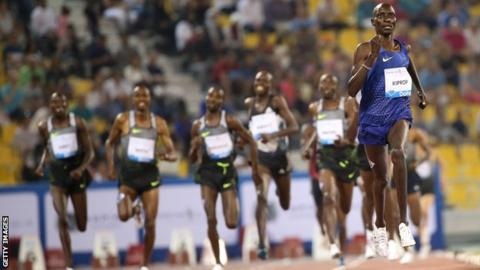 Asbel Kiprop: Former Olympic champion tipped off about doping visit