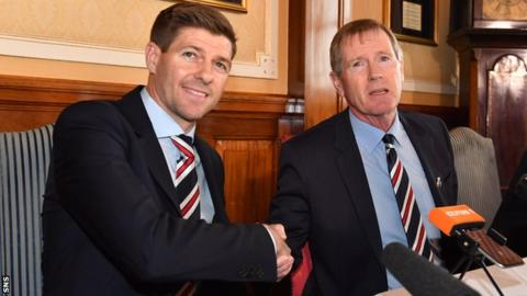 Steven Gerrard: New Rangers manager says he can make fans happy