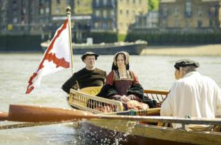 Anne Boleyn's final days re-enacted in London