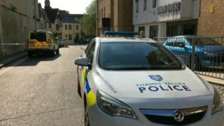 Oxford shooting: Police and gunman in standoff