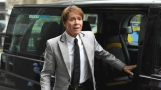 Cliff Richard case: Helicopter shots 'used sparingly'