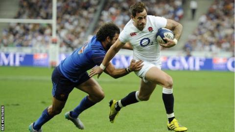 Danny Cipriani named in England squad to tour South Africa in June