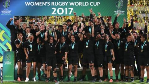 Women's Rugby World Cup: Format changes announced for 2021 tournament