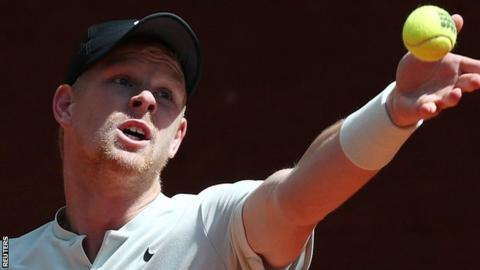 Madrid Open: Kyle Edmund beats David Goffin in last 16