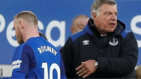 Wayne Rooney not asked to leave Everton for DC United - Sam Allardyce