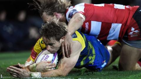 European Challenge Cup final: Cardiff Blues 31-30 Gloucester
